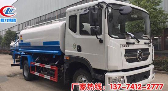 东风D9-12吨喷雾洒水车-国五